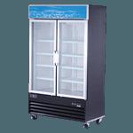 Spartan Refrigeration SGM-49RS Reach-In Refrigerator Merchandiser