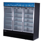 Spartan Refrigeration SGM-72RS Reach-In Refrigerator Merchandiser