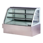 Spartan Refrigeration SD-60 Curved Glass Deli Case
