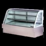 Spartan Refrigeration SD-72 Curved Glass Deli Case