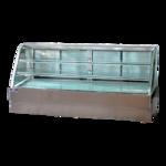 Spartan Refrigeration SD-96 Curved Glass Deli Case