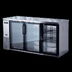 Spartan Refrigeration SSGBB-72 Back Bar