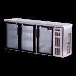 Spartan Refrigeration SSGBB-79-SL Refrigerated Back Bar Cooler