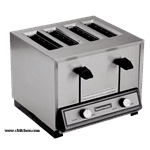 Toastmaster HT409-120C Toastmaster®Pop-Up 4-slice Hybrid Toaster