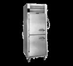 Traulsen AHT132DUT-HHS 24'' 17.7 cu. ft. Top Mounted 1 Section Solid Half Door Reach-In Refrigerator
