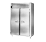 Traulsen AHT232WUT-FHS 58'' 51.6 cu. ft. Top Mounted 2 Section Solid Door Reach-In Refrigerator