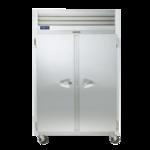 Traulsen G20011 52.13'' 46 cu. ft. Top Mounted 2 Section Solid Door Reach-In Refrigerator