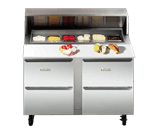 Traulsen UPD6012DD-0300-SB Dealer's Choice Compact Prep Table