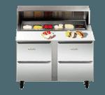 Traulsen UPD6024DD-0300-SB Dealer's Choice Compact Prep Table
