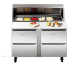 Traulsen UPD2709DD-0300  Compact Prep Table