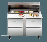 Traulsen UPD3208DD-0300-SB  Compact Prep Table