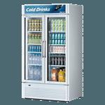 Turbo Air TGM-35SD-N Super Deluxe Glass Merchandiser Refrigerator