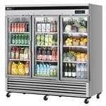 Turbo Air TSR-72GSD-N Super Deluxe Glass Door Refrigerator