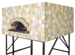 Univex DOME55S Artisan Stone Hearth Square Pizza Oven