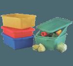 Vollrath 1535-C08 Traex® Color-Mate™ Food Storage Storage Box Combo