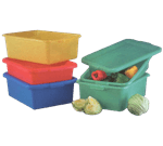 Vollrath 1551-C08 Traex® Color-Mate™ Food Storage Storage Box Combo