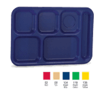 Vollrath 2015-104 School Compartment Tray