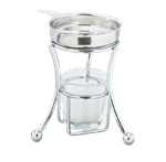 Vollrath 45801 Glass Candle Holder only for Butter Melter #46776