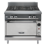 """Vulcan VWT36 Commercial Range, 36"""" W with Work top and Without Base -"""